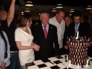 2015-Cap d'Agde =la gâteau avec Karpov